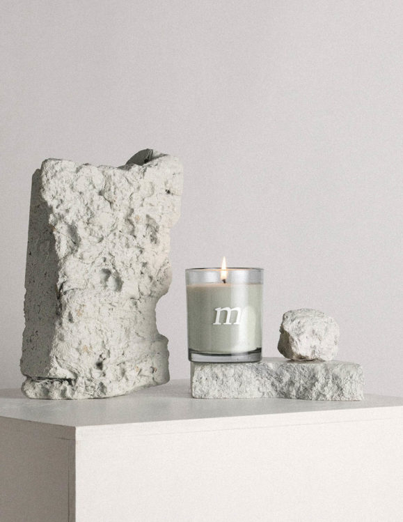 mimosa rocks candle by addition studio - designer candles