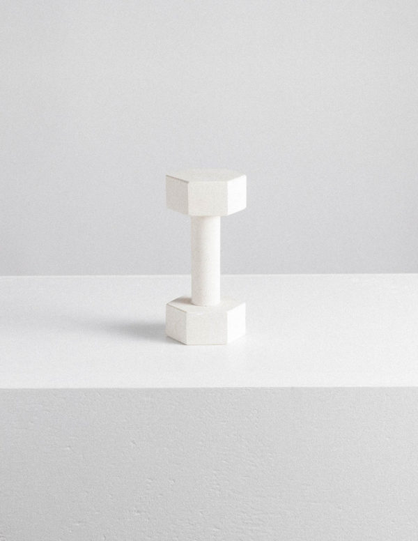 marble dumbbell limestone by addition studio - page thirty three marble dumbbells