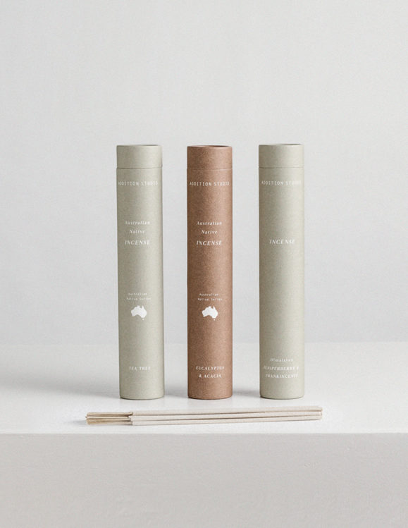 incense made in australia with australian scents - Australian Native Incense by Addition Studio
