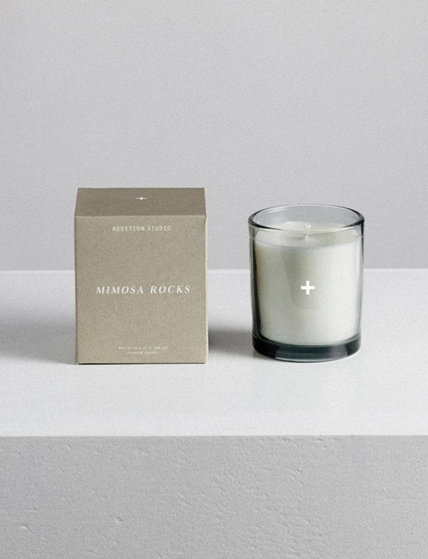 Scented Candle - Mimosa Rocks