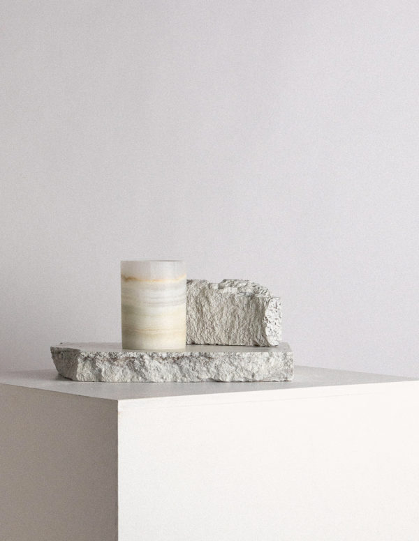 white onyx cup - designer drinkware by addition studio