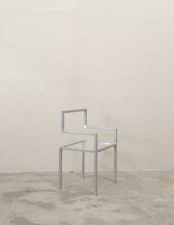 Invisible Chair minimalist - best designer chairs australia - invisible chair by addition studio - designer chairs - designer furniture - homewares and furniture australia - famous designer chairs - designer dining chairs