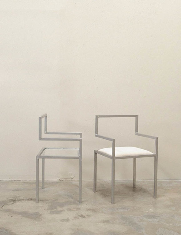 minimalist designer chairs australia - invisible chair by addition studio - designer chairs - designer furniture - homewares and furniture australia - famous designer chairs - designer dining chairs